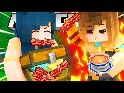 THE MOST DELICIOUS BACON EVER!? (Minecraft Build Battle)
