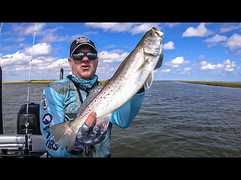 FOX Sports Outdoors SouthWEST #34 - 2019 Surfside Beach Texas Speckled Trout/Redfishing