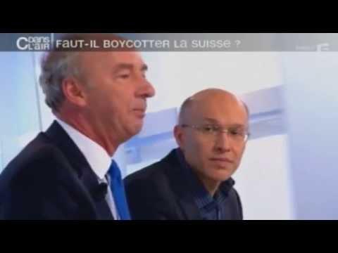 C dans l'air - France 5 - Faut-il boycotter la Suisse ?