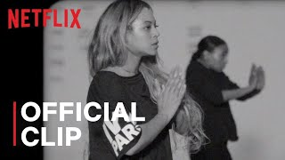 Beyoncé Rehearses For Homecoming | Netflix | 🐝