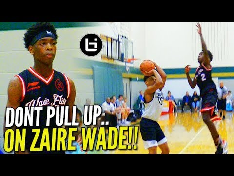 GAME WINNER Alert!! Zaire Wade Leads COMEBACK BUT Was It Enough!? Adidas Gauntlet Dallas!