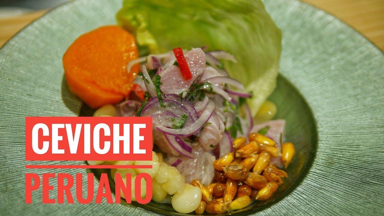 Como Preparar El Mejor Ceviche Peruano Receta Facil Paso A Paso Chef Del Restaurante Inti De Oro Youtube
