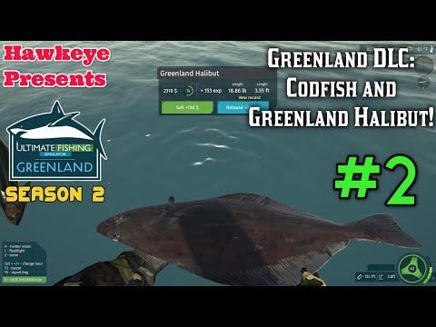 Ultimate Fishing Simulator Season 2 #2 - Greenland DLC: Codfish And Greenland Halibut!