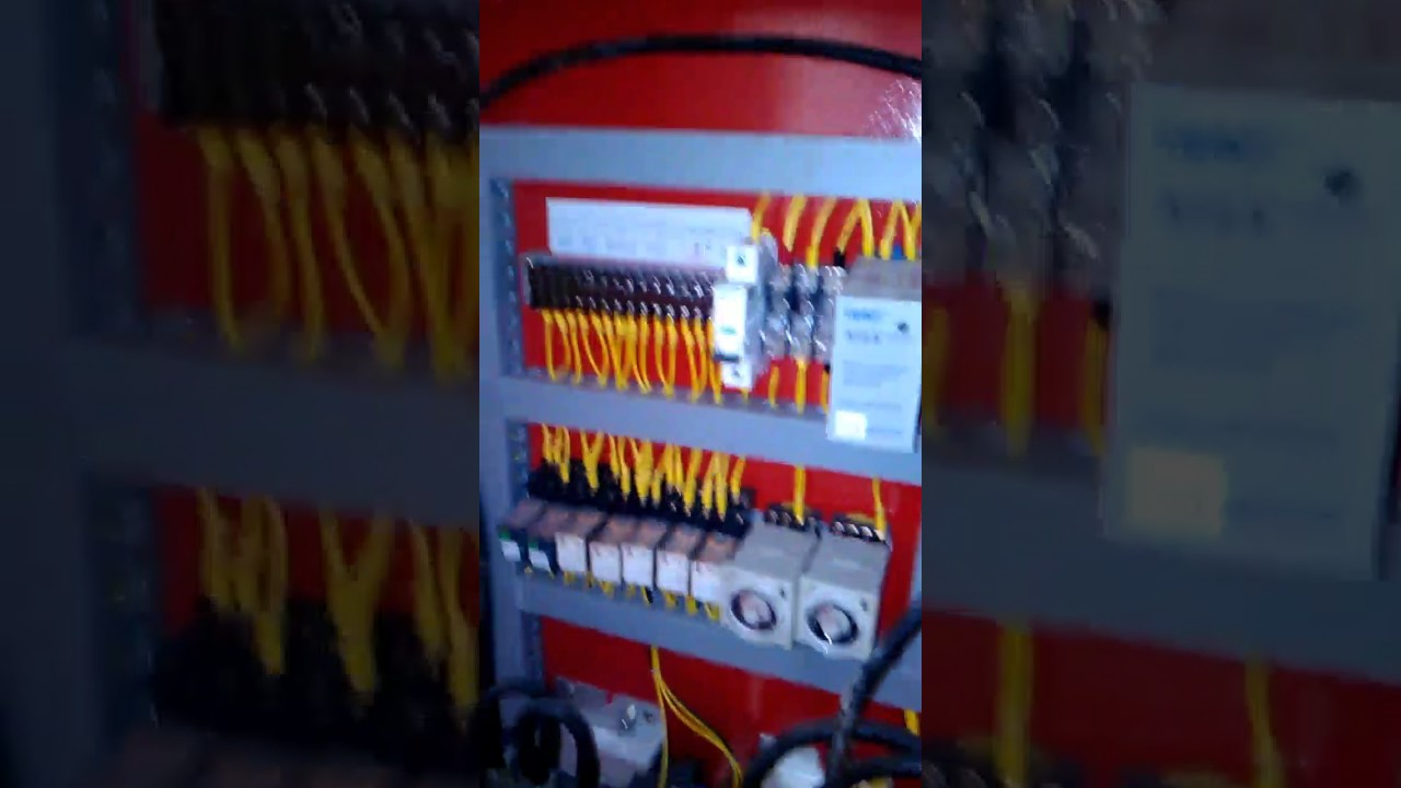 Panel Electric Fire Pump Controller Youtube Joslyn Clark Wiring Diagrams