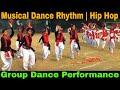 Musical dance rhythm   Hip hop   Group dance performance