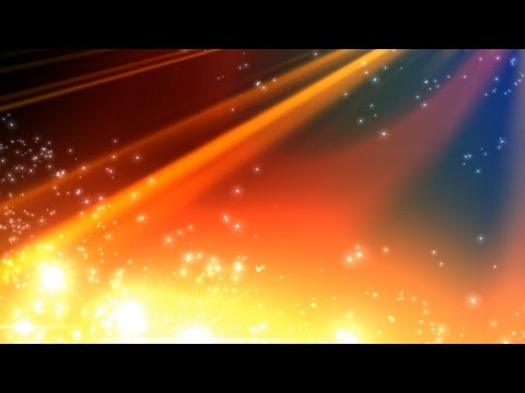 4K Colorful Rainbow Particle Spread Shine UHD Background Animation