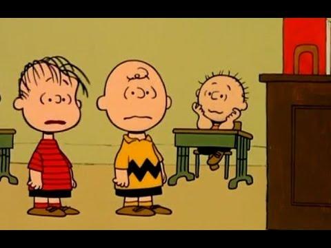Peanuts Teacher Calls Out Charlie Brown Linus Wah Wa Wa Wah Wa