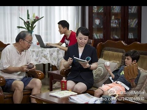Funny Chinese comedy TV show featuring British actor Scott Jones E04