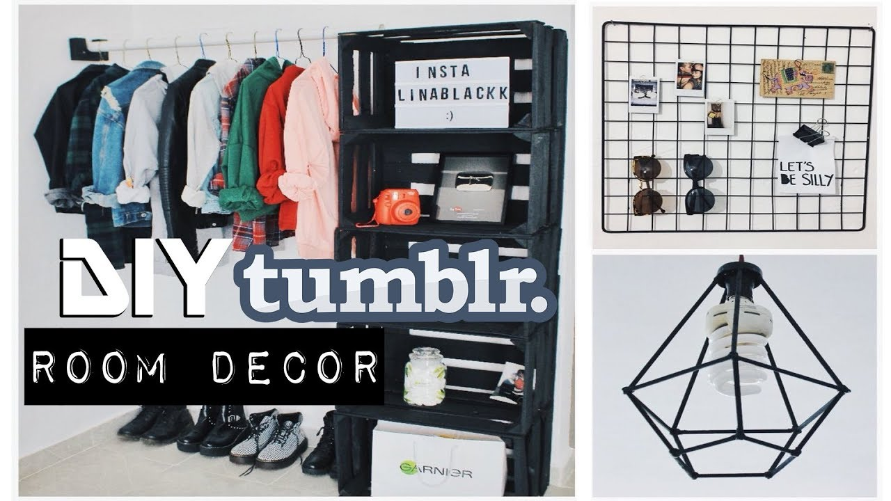 Diy Decora Tu Cuarto Tumblr Room Decor L I N A B L A C K