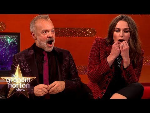 Keira Knightley Uses Her TEETH As A al Instrument  The Graham Norton Show