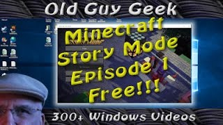 Free Minecraft Story Mode Episode 1 by Telltale Games