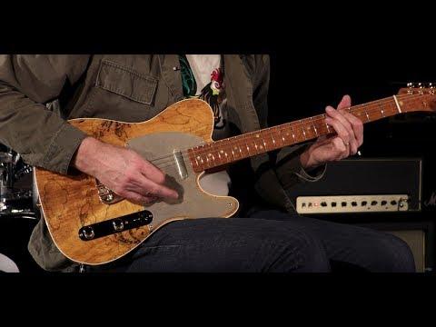 Fender Custom Shop Wildwood 10 Artisan Telecaster - Spalted Maple  •  SN: CZ531343