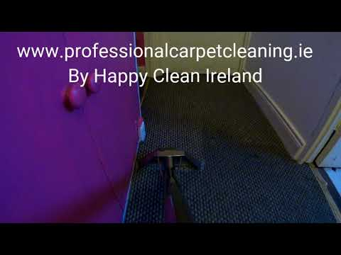 Professional carpet cleaning By Happy Clean Ireland