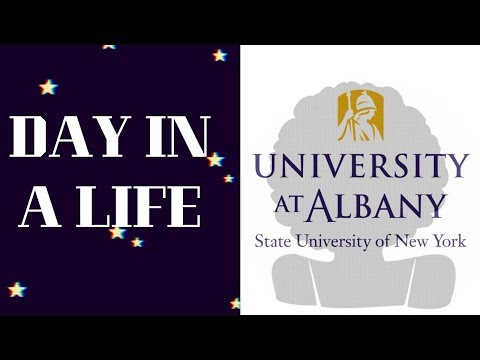 Day In the Life|| UAlbany Student