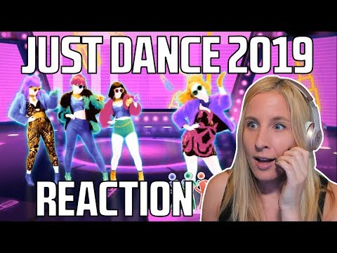 JUST DANCE 2019 TRAILERS REACTION Mi Mi Mi alternative and JDWC thoughts