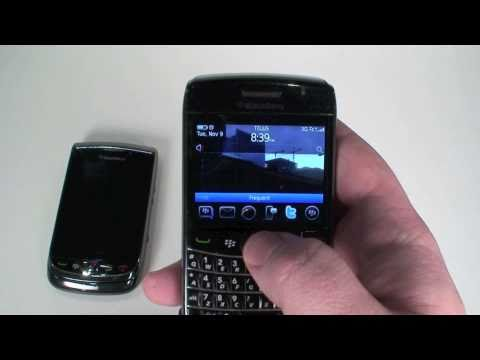 Rogers BlackBerry Bold 9780 unboxing and hands on