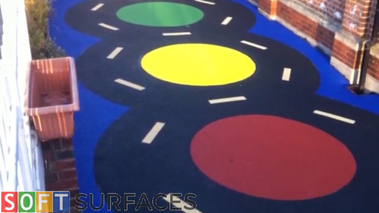 Download Wetpour surface Installation in Cheltenham, Gloucestershire   Wetpour Play Area