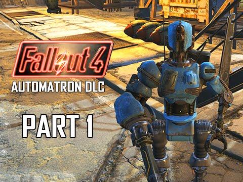 Fallout 4 Automatron DLC Walkthrough Part 1Mechanical Menace PC Ultra Lets Play