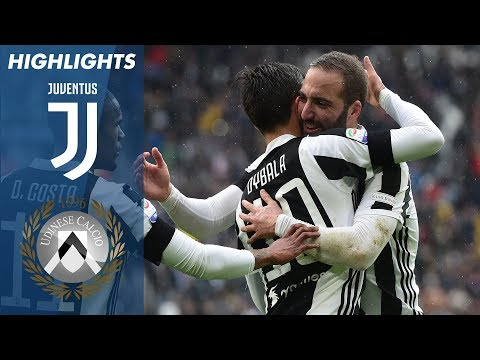 Juventus - Udinese 2-0 - Highlights - Giornata 28 - Serie A TIM 2017/18