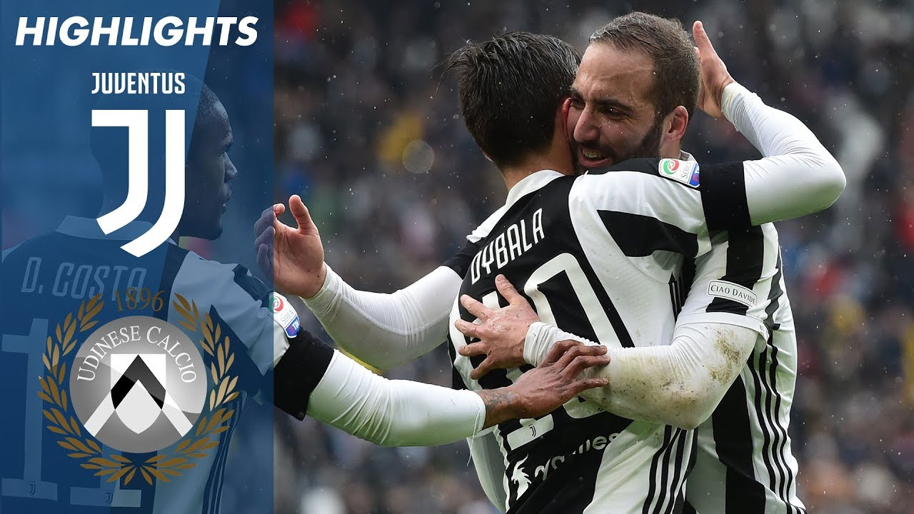 Juventus 2 0 Udinese Highlights Giornata 28 Serie A