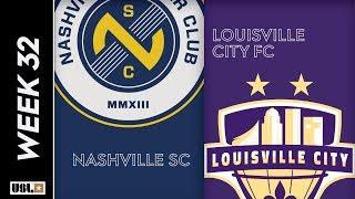 Nashville SC Vs. Louisville City FC October 8 2019