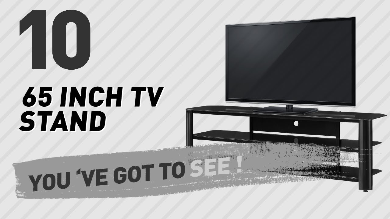 65 Inch TV Stand  New U0026 Popular 2017 Black Inch Tv Stand68