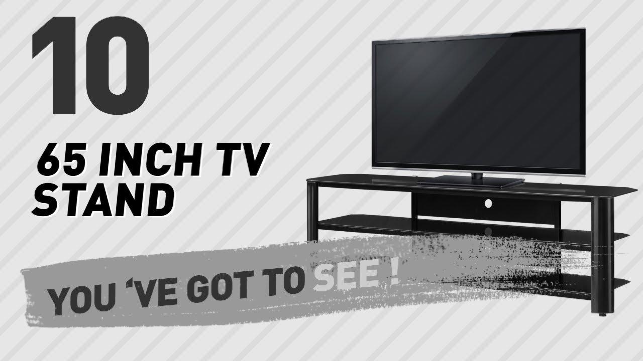 65 Inch TV Stand  New U0026 Popular 2017 Black Inch Tv Stand68