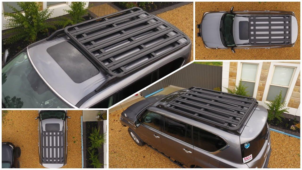 Y62 Patrol DASH Roof Rack Install Review