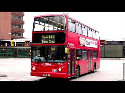 London Buses - Arriva in North London - DAFs, Volvos and Enviro 400s