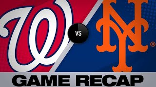 Gomez's 3-run HR in 8th lifts Mets past Nats - 5/23/19