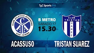 Acassuso vs Tristan Suarez full match