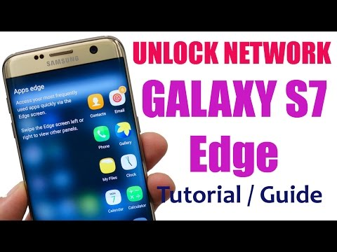 Unlock Samsung Galaxy S7 Edge With Network Unlock Codes