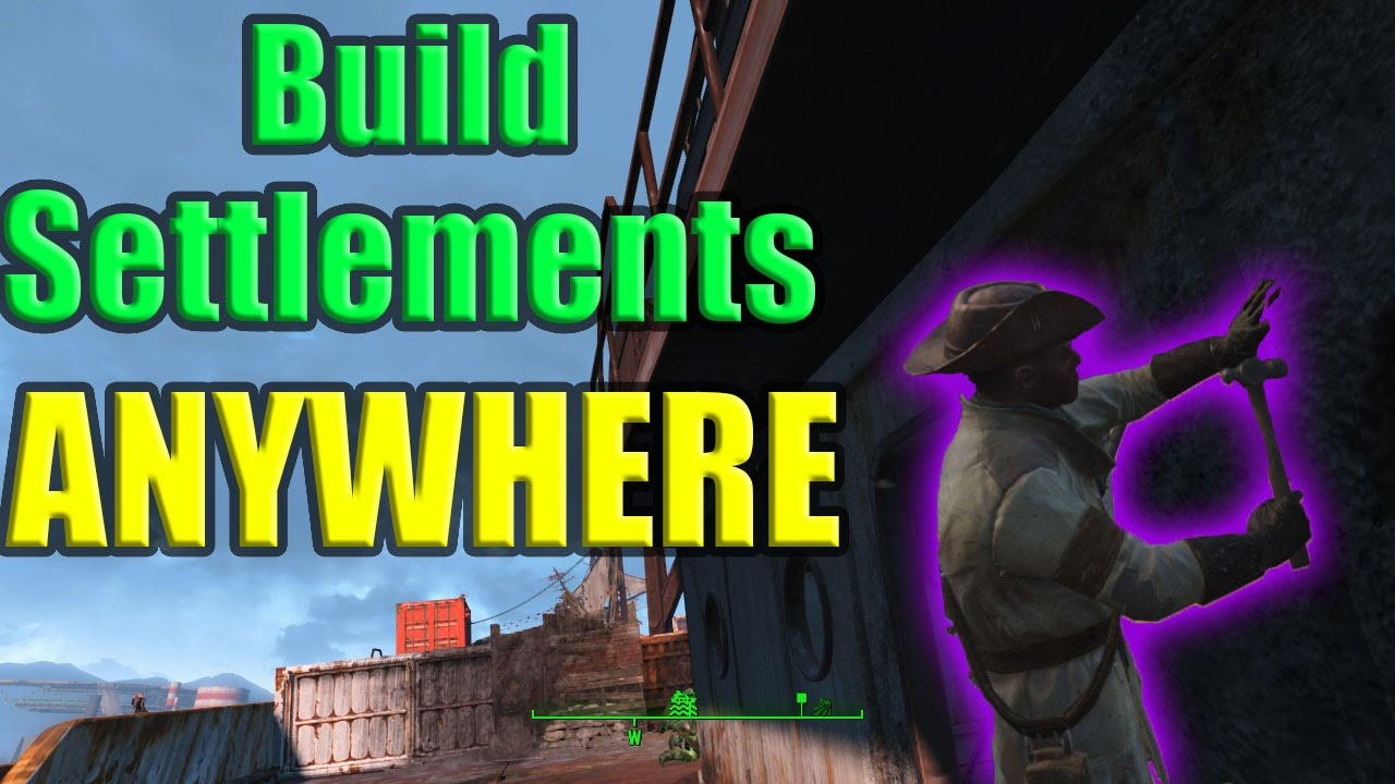 how to build anywhere in fallout 4