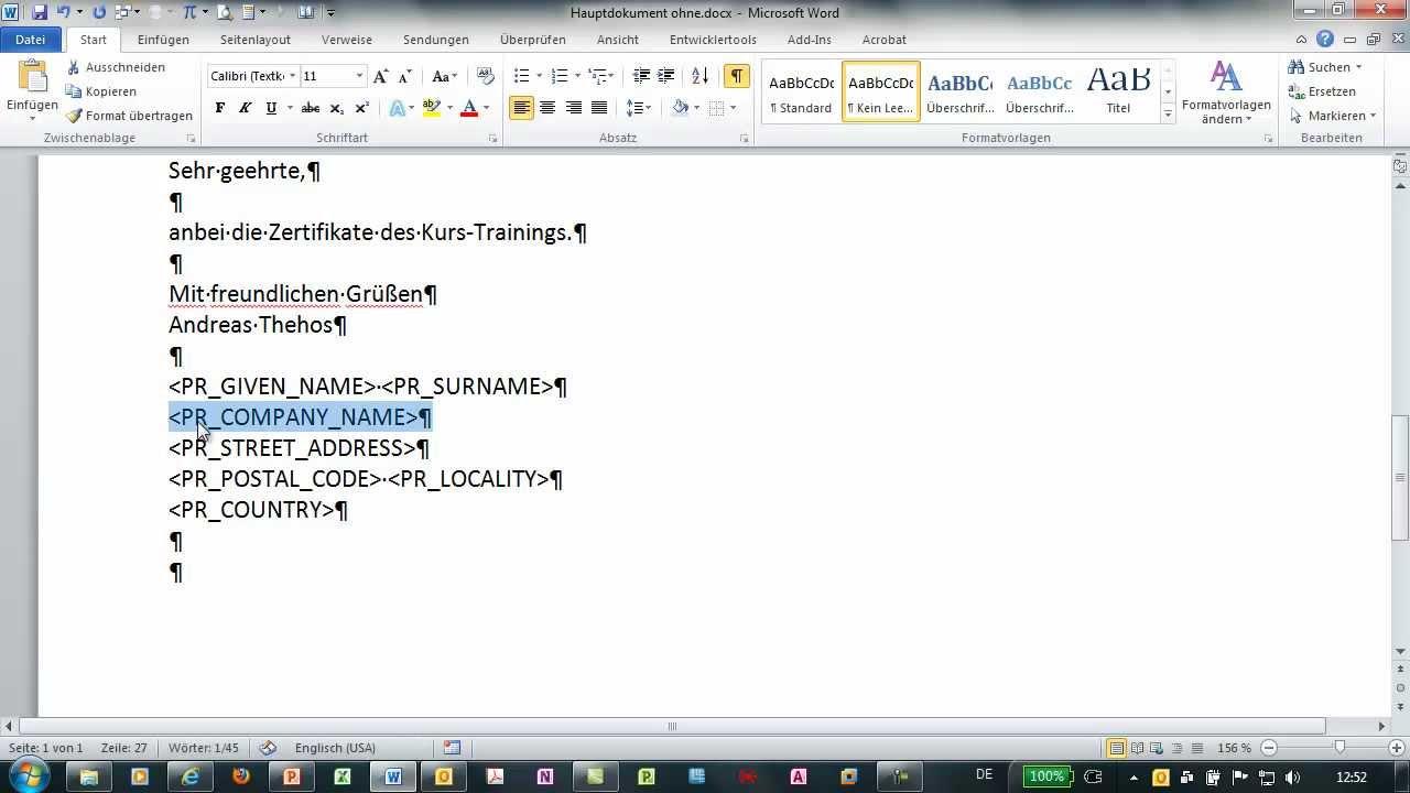 Beste Microsoft Word Vorlage Zertifikat Bilder - Entry Level Resume ...