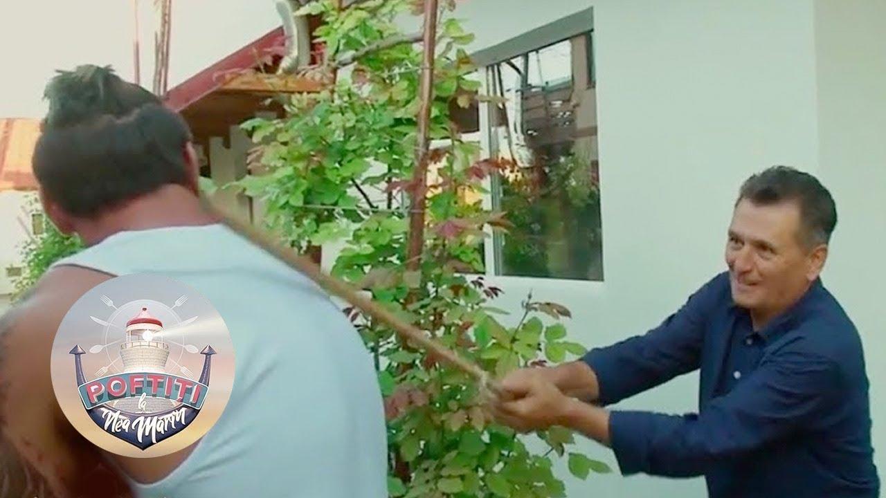 Nea Marin a rupt parul pe spatele lui Dorian Popa: