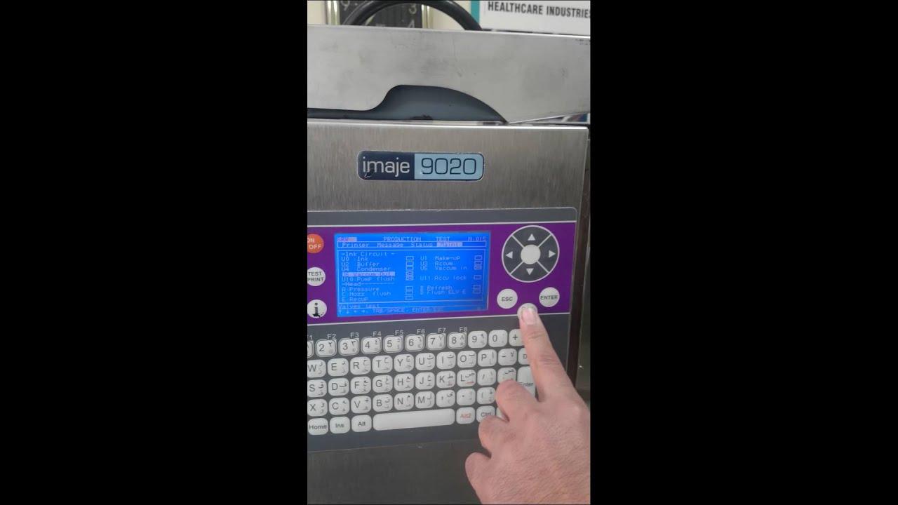 Markem imaje 9020 ink-jet printer.