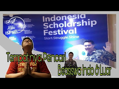 SHARING PENGALAMAN IKUT INDONESIA SCHOLARSHIP FESTIVAL