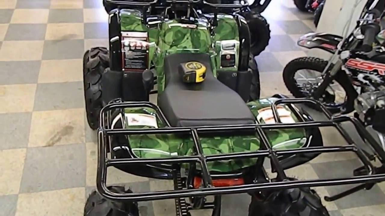 Atv quad coolster 3125 xr8u 3125 r125cc utility style for High style motoring atv