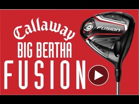 Big Bertha Fusion Callaways Most Forgiving Driver Egolf Megastore