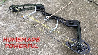 Making a Full Size Compound Bow | Aluminum Riser | Powerful
