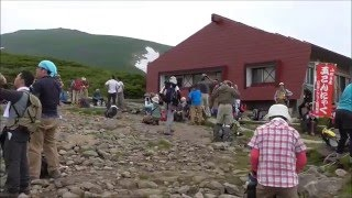 山形県 月山 ハイキング  2014,7,13