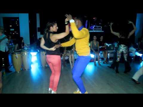 Mitchell & Monica (Tambo Dance Project) - Boston Salsa Festival 2012 (Social Dancing, Sun 9/9/12)