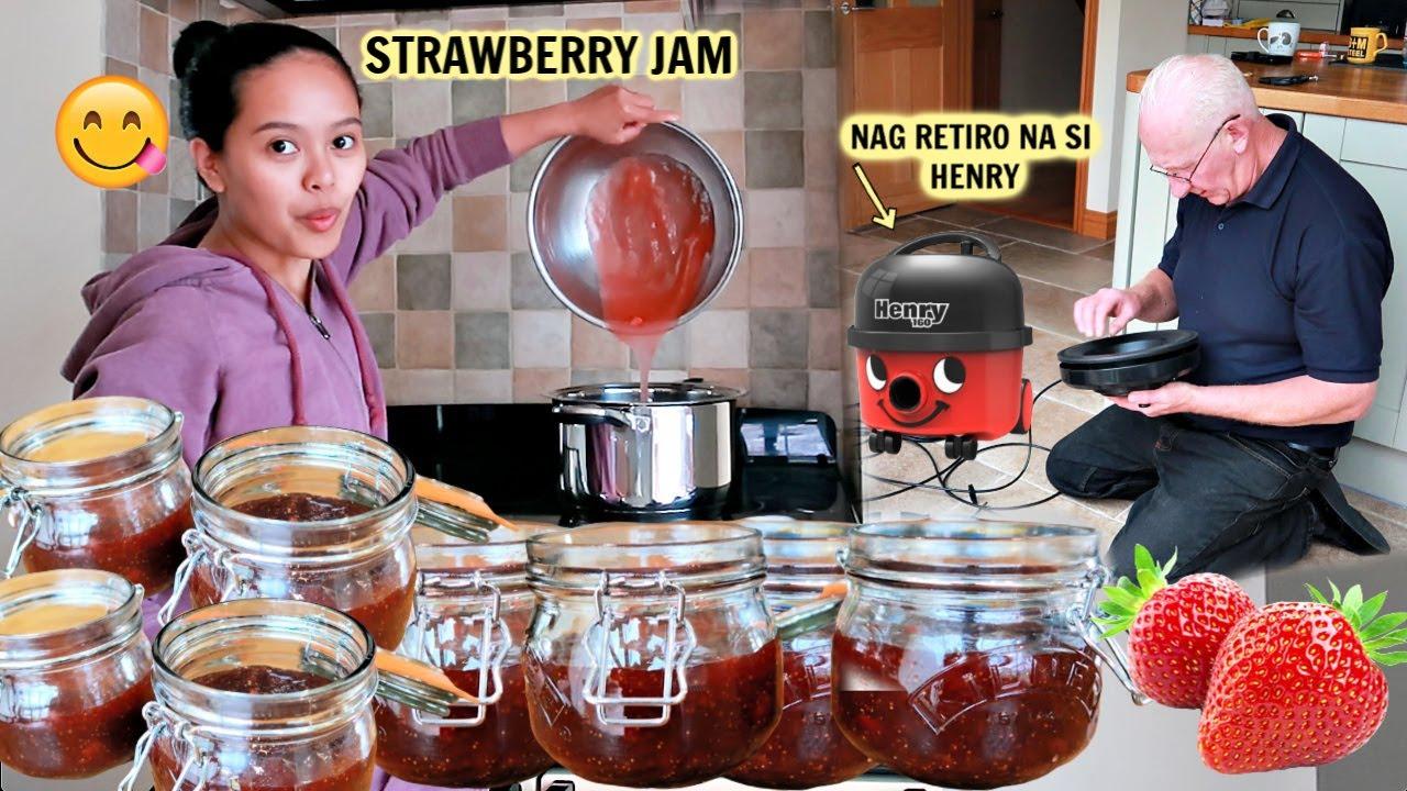 FILIPINA BRITISH: SUCCESS ANG STRAWBERRY JAM NATIN! WALA NA SI HENRY