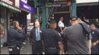 Police search for gunman after Brooklyn subway shooting