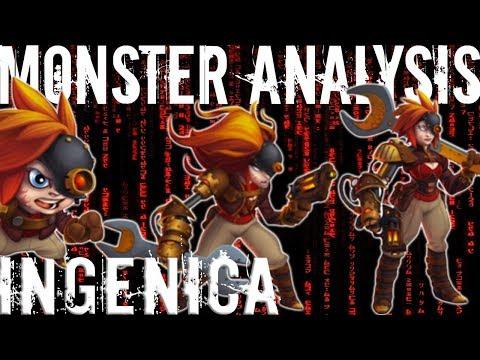 Monster Legends | Monster Analysis | Ingenica | Ingenica's Myth