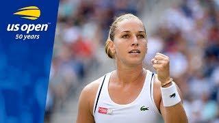 Dominika Cibulkova Shocks A. Kerber in Three Sets in R3 of the 2018 US Open