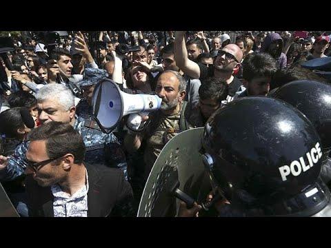 Milhares nas ruas de Erevan em sexto dia de protestos