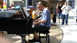 Avicii - Wake Me Up - Jonny May Piano Version - Live at Brodericks in Manchester airport