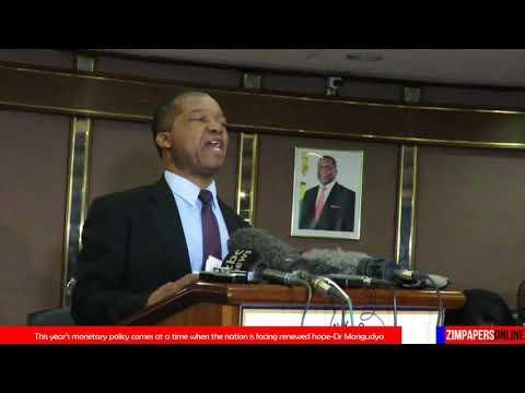 Reserve Bank of Zimbabwe announces 2018 Monetary Policy