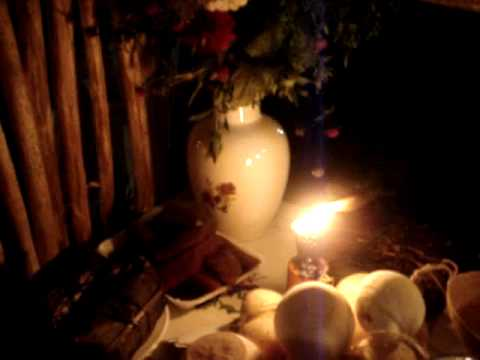 Altar de difuntos Hanal Pixan